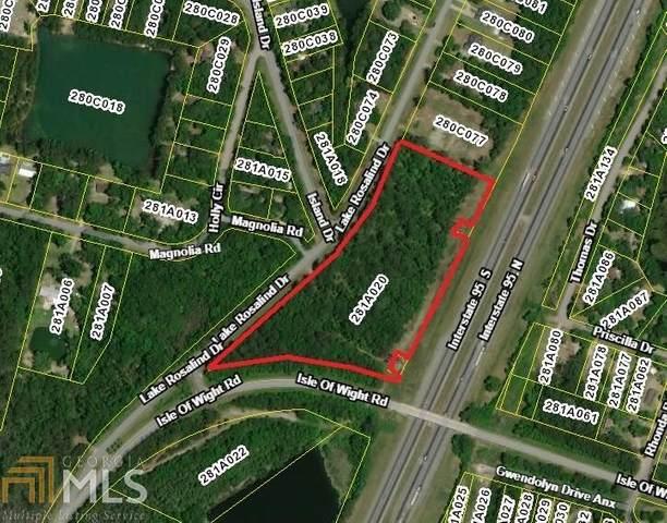 0 Lake Rosalind Dr, Midway, GA 31320 (MLS #8821328) :: The Ursula Group