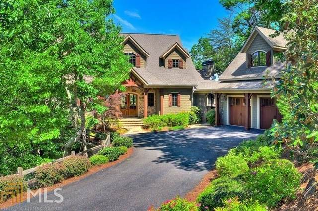 31 Black Bear Ridge, Big Canoe, GA 30143 (MLS #8823230) :: Rettro Group