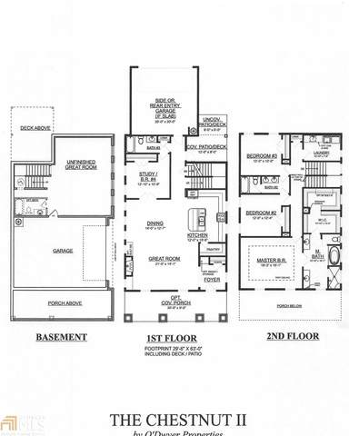 958 Rittenhouse Way Lot 21, Atlanta, GA 30316 (MLS #8824164) :: Rettro Group