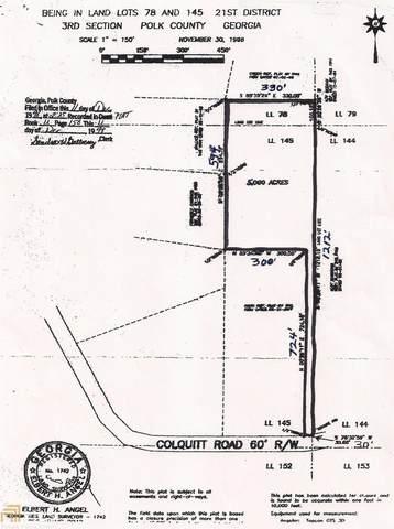50 Colquitt Rd, Cedartown, GA 30125 (MLS #8834584) :: Maximum One Greater Atlanta Realtors