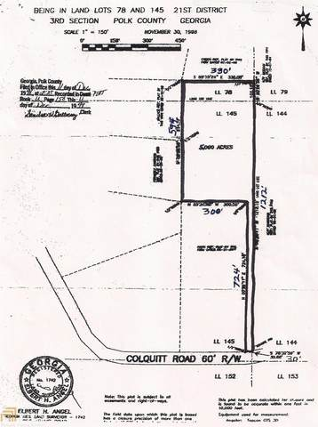 50 Colquitt Rd, Cedartown, GA 30125 (MLS #8834584) :: The Realty Queen & Team