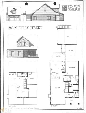 389 N Perry St, Lawrenceville, GA 30046 (MLS #8835788) :: Athens Georgia Homes