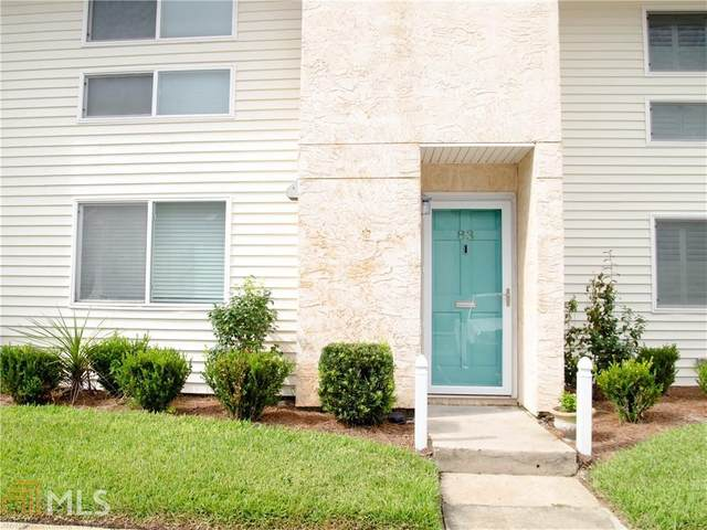 1000 Mallery Street Ext K83, St. Simons, GA 31522 (MLS #8851991) :: AF Realty Group