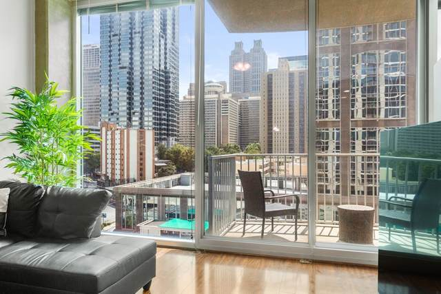 400 W Peachtree St #1009, Atlanta, GA 30308 (MLS #8858341) :: Anderson & Associates