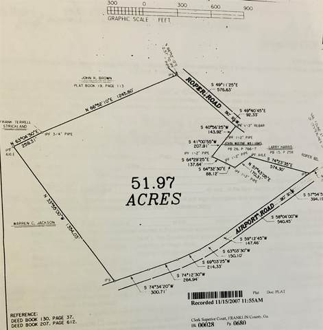 0 Airport Rd, Canon, GA 30520 (MLS #8860411) :: Bonds Realty Group Keller Williams Realty - Atlanta Partners