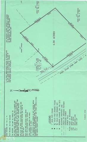 0 Post Rd, Monticello, GA 31064 (MLS #8864849) :: Regent Realty Company