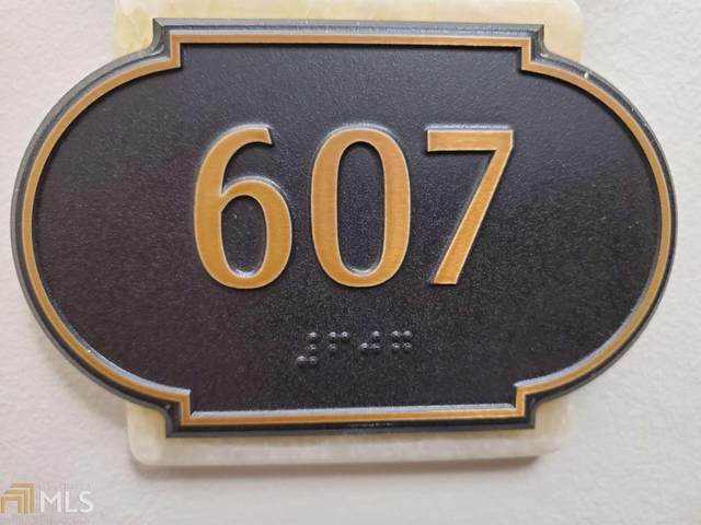2233 Peachtree Rd #607, Atlanta, GA 30309 (MLS #8868968) :: AF Realty Group