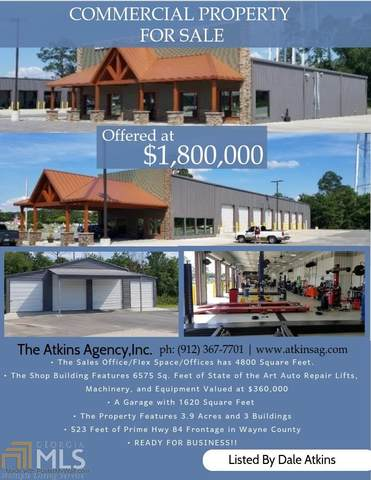 448 South First St, Jesup, GA 31545 (MLS #8869360) :: Anderson & Associates
