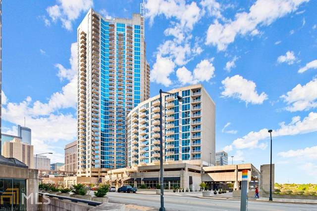 400 W Peachtree St #3204, Atlanta, GA 30308 (MLS #8869698) :: Rettro Group