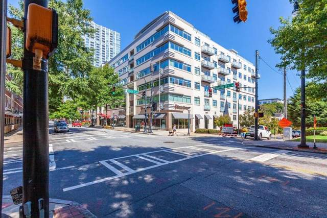 805 Peachtree St #209, Atlanta, GA 30308 (MLS #8871984) :: AF Realty Group