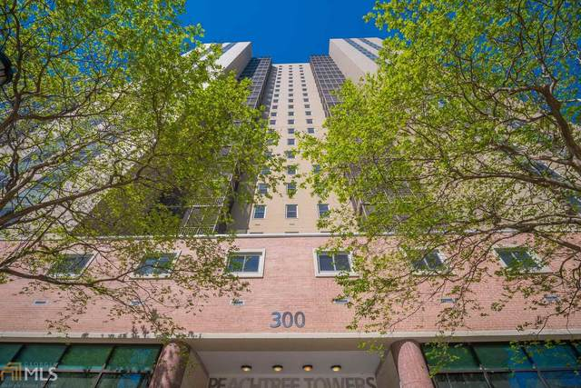 300 W Peachtree St 21J, Atlanta, GA 30308 (MLS #8874429) :: RE/MAX Eagle Creek Realty