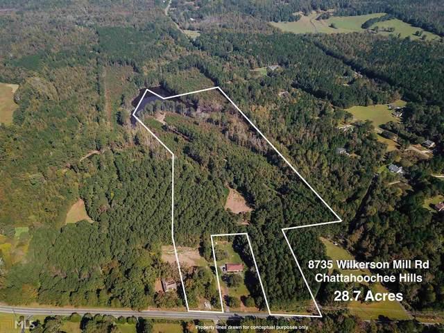 8735 Wilkerson Mill Rd, Chattahoochee Hills, GA 30268 (MLS #8876964) :: Rettro Group