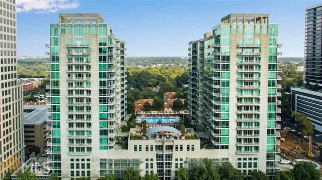943 Peachtree St #1603, Atlanta, GA 30309 (MLS #8878219) :: Regent Realty Company