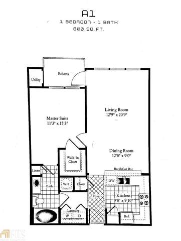 1850 Cotillion #2106, Atlanta, GA 30338 (MLS #8884853) :: Tim Stout and Associates