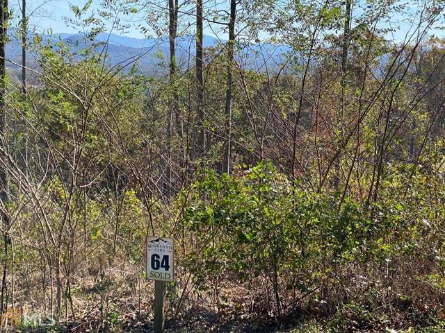 0 Highland Park Lot 64, Blairsville, GA 30512 (MLS #8886557) :: Bonds Realty Group Keller Williams Realty - Atlanta Partners
