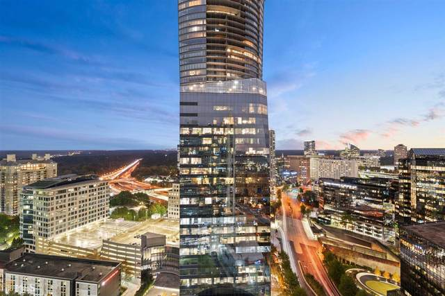 3324 Peachtree Rd #2507, Atlanta, GA 30326 (MLS #8890307) :: AF Realty Group