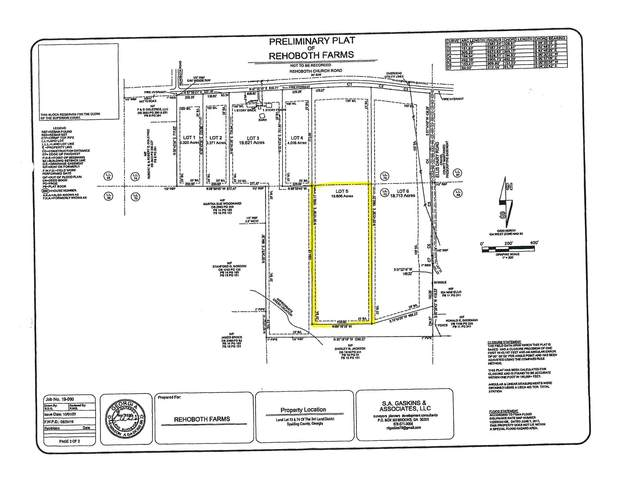 0 Rehoboth Church Rd Lot 5, Griffin, GA 30224 (MLS #8892207) :: AF Realty Group