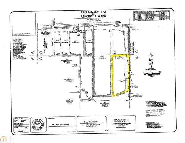0 Rehoboth Church Rd Lot 6, Griffin, GA 30224 (MLS #8892219) :: AF Realty Group