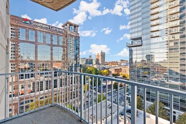 400 W Peachtree Street #1105, Atlanta, GA 30308 (MLS #8892598) :: Rettro Group