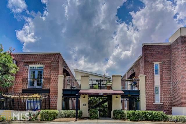 985 Ponce De Leon Ave #401, Atlanta, GA 30306 (MLS #8895658) :: AF Realty Group