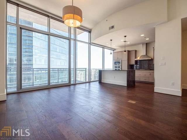 1065 Peachtree St #2701, Atlanta, GA 30309 (MLS #8897375) :: Rettro Group
