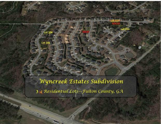 5576 SW Boreal Way Lot 106, Atlanta, GA 30331 (MLS #8904335) :: RE/MAX Center