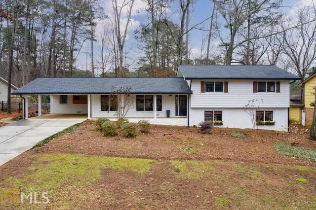 4693 Dunover Cir, Dunwoody, GA 30360 (MLS #8912432) :: RE/MAX Eagle Creek Realty