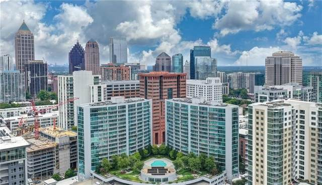 950 W Peachtree St #1507, Atlanta, GA 30309 (MLS #8912519) :: Keller Williams Realty Atlanta Partners