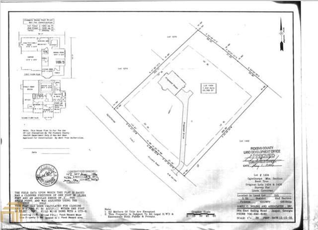 0 Oglethorpe Mountain Trl #1434, Jasper, GA 30143 (MLS #8913424) :: RE/MAX Center