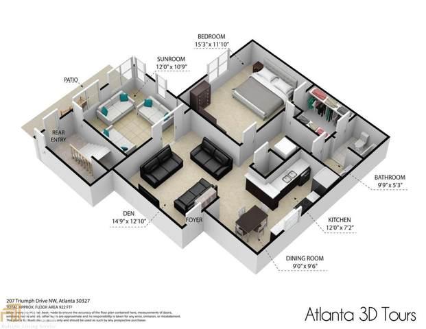 207 Triumph Dr, Atlanta, GA 30327 (MLS #8916868) :: Scott Fine Homes at Keller Williams First Atlanta