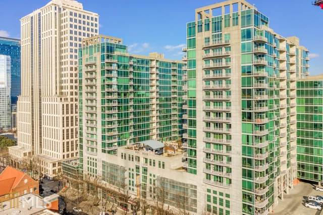 943 Peachtree St #1107, Atlanta, GA 30309 (MLS #8929429) :: Military Realty