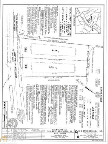 510 & 520 W Peachtree, Norcross, GA 30071 (MLS #8944491) :: The Huffaker Group