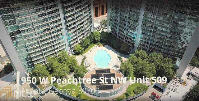 950 W Peachtree St #509, Atlanta, GA 30309 (MLS #8950669) :: Team Cozart