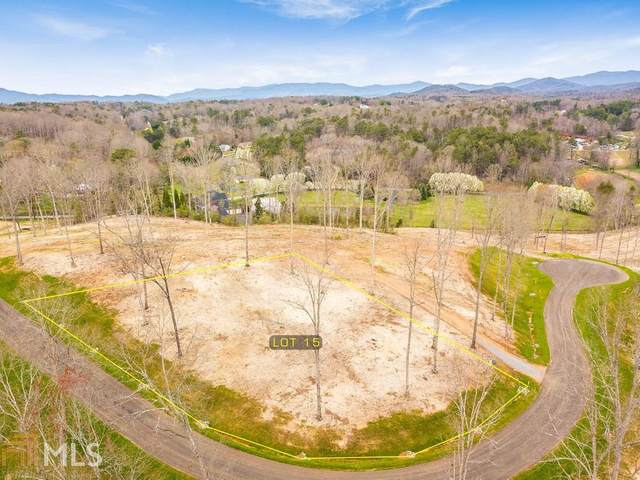 0 Mystic Dr Lot 15, Ellijay, GA 30540 (MLS #8952537) :: AF Realty Group