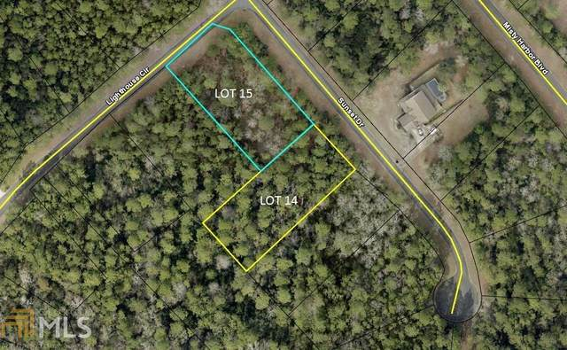 0 Sunset Dr Lot 15, Woodbine, GA 31569 (MLS #8955207) :: Crown Realty Group