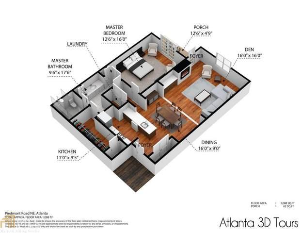 850 Piedmont Ave #1101, Atlanta, GA 30308 (MLS #8956799) :: Keller Williams Realty Atlanta Partners