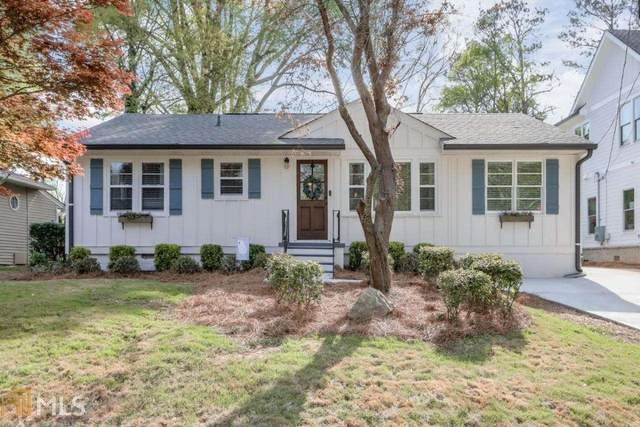 2799 Fraser St, Smyrna, GA 30080 (MLS #8960553) :: The Heyl Group at Keller Williams