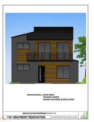 1361 Graymont Drive, Atlanta, GA 30310 (MLS #8962521) :: RE/MAX Eagle Creek Realty