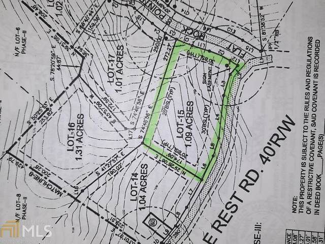 0 Eagle Rest Rd Lot 15, Dahlonega, GA 30533 (MLS #8970294) :: AF Realty Group