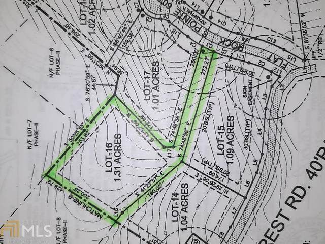 0 Flat Rock Pt Lot 16, Dahlonega, GA 30533 (MLS #8970322) :: AF Realty Group