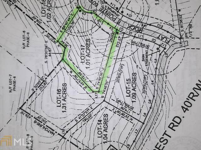 0 Flat Rock Pt Lot 17, Dahlonega, GA 30533 (MLS #8970331) :: AF Realty Group