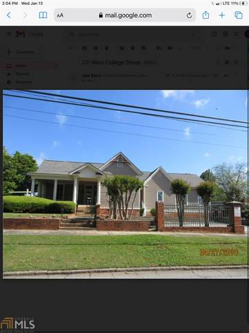 231 West College St, Griffin, GA 30224 (MLS #8973496) :: Buffington Real Estate Group