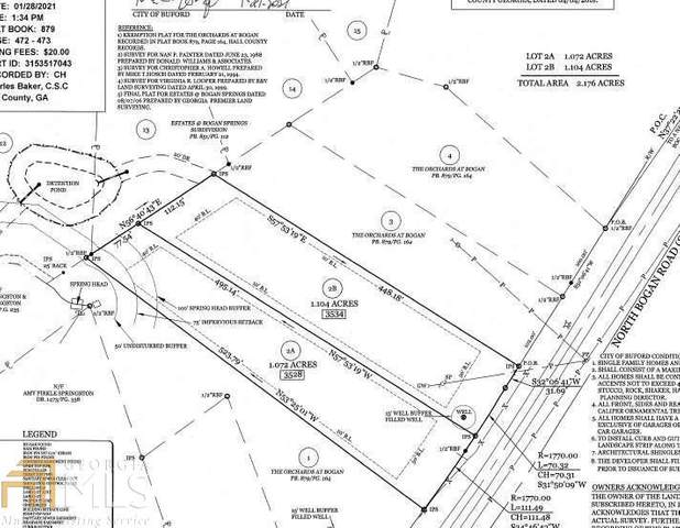 3544 North Bogan (Lot 4) Rd, Buford, GA 30519 (MLS #8975298) :: The Ursula Group