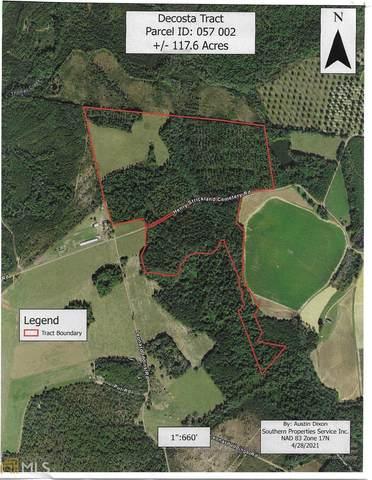 0 Henry Strickland Cemetery Rd, Reidsville, GA 30453 (MLS #8975390) :: Crown Realty Group