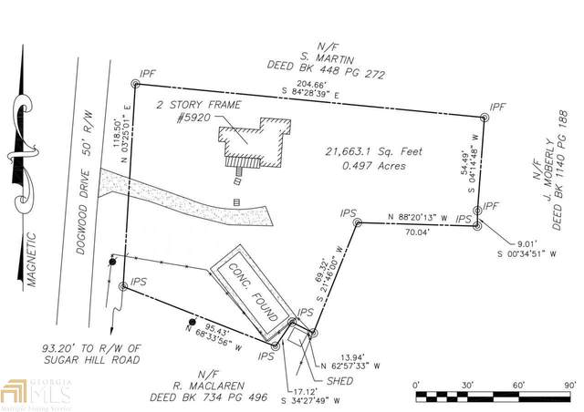 5920 Dogwood Dr, Acworth, GA 30102 (MLS #8980102) :: Crest Realty