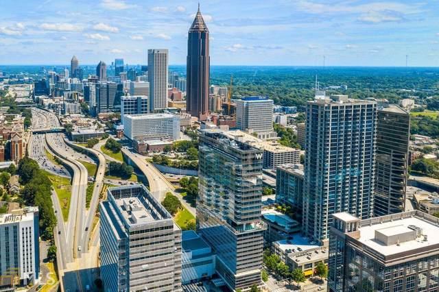 45 Ivan Allen Jr Blvd #2403, Atlanta, GA 30308 (MLS #8982974) :: Athens Georgia Homes