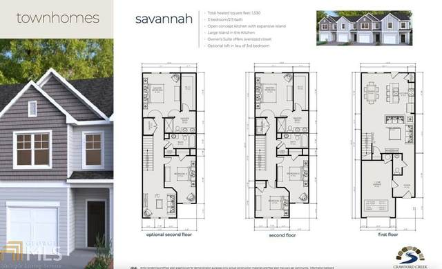 6317 Redan Sq #64, Lithonia, GA 30058 (MLS #8984302) :: Buffington Real Estate Group