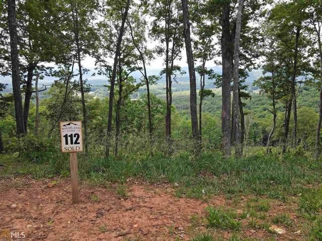 0 Highland Park Lt 112, Blairsville, GA 30512 (MLS #8988060) :: Houska Realty Group