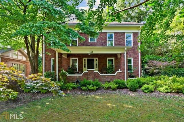 1405 Cornell Rd, Atlanta, GA 30306 (MLS #8990898) :: Athens Georgia Homes