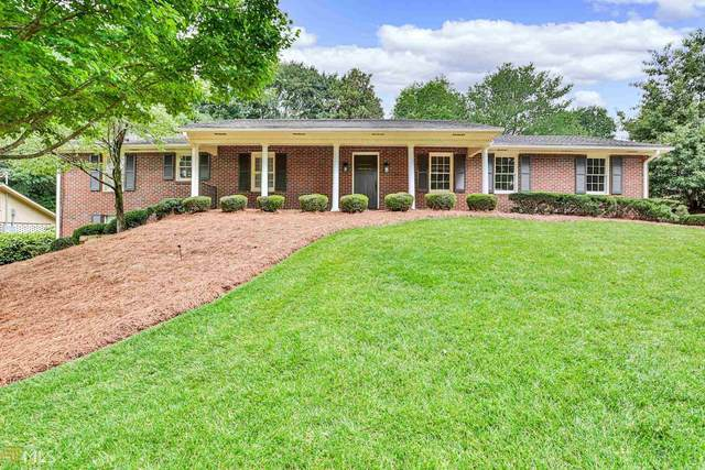 1320 Knoll Woods Ct, Roswell, GA 30075 (MLS #8995612) :: The Huffaker Group